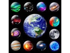Svítící magnetky GALAXY