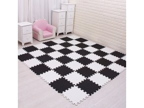 variantimage14MQIAOHAM Baby EVA Foam Play Puzzle Mat 18pcs lot Black and White Interlocking Exercise Tiles Floor