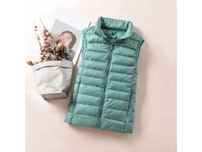 variantimage22020 New Women 90 White Duck Down Vest Women s Ultra Light Duck Down Vest Jacket