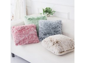 mainimage0Soft Fur Plush Cushion Cover Pillowcase Home Decor Pillow Covers Living Room Bedroom Sofa Decorative Pillows