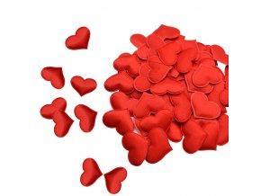 Zamilované dekorace - srdíčkové konfety