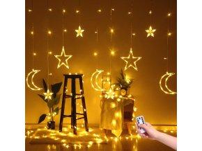 Krásný světelný závěs GOOD NIGHT