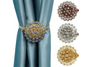 Magnetické spony na závěsy DIAMOND