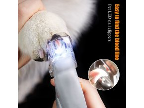 mainimage0Professional Pet Nail Clipper Scissors Pet Dog Cat Nail Toe Claw Clippers Scissor LED Light Nail