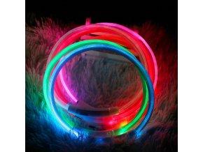 mainimage0Led Usb Dog Collar Pet Dog Collar Night Dog Collars Glowing Luminous Rechargeable LED Night Safety
