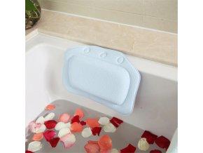 Měkký polštářek do vany - opěrka hlavy do vany - koupel - vana - polštářek - SPA polštářek - barevný protiskluzový relaxační polštářek