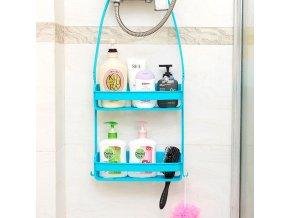 Plastové poličky do koupelny - organizér do koupelny - koupelnové doplňky - stojan do koupelny