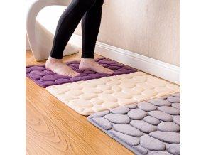 Oblázková předložka do koupelny - kobereček do koupelny - koupelnové dekorace - koupelnové doplňky - koupelnové podložky