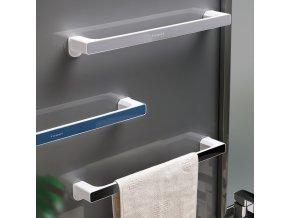 Moderní věšák na ručníky a utěrky - držák na ručníky - moderní koupelna - koupelnové doplňky - věšák