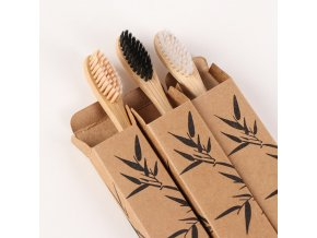 mainimage01PC Wooden Toothbrush Solid Bamboo Handle Soft Fibre Eco Friendly Teeth Brushes Dental Cleaning Adult Oral