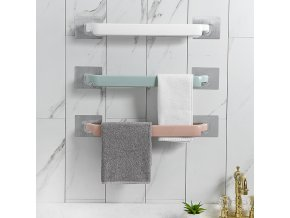 Samolepící věšák na ručníky - držák na ručníky - koupelnové doplňky RACK