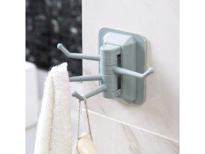 Praktický věšák - věšák na ručníky, utěrky, hadry - věšák na klíče - úspora místa - simply