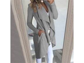variantimage1Fashion Women Open Front Coats and Jacket Elegant OL Office Lady Cardigan Femme Outwear Autumn Winter