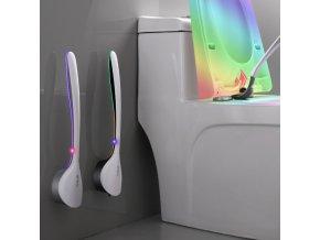Silikonová štětka na wc - nástěnná štětka na wc - kartáč na wc- CLEAN