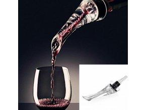 Provzdušňovač na víno - vzduchový dekantér na víno - dárky pro vinaře - příslušenství na víno