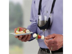 Držák na skleničky na víno - závěsný držák na skleničky - vtipné dárky - příslušenství na párty - pro vinaře