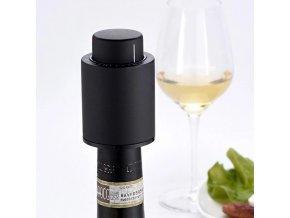 Vakuová zátka na víno - náhradní zátka na víno - náhradní víčko - víno - zátka s časovačem