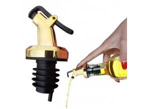 Rozprašovač na olej - zátka na olej - uzávěr na olej - zátkový rozprašovač - dávkovač na alkohol - nalejvač - nálevka GOLDEN