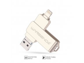 USB Flash disk pro iPhone SILVER