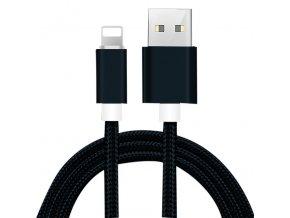 Textilní nabíjecí kabel pro iPhone USB