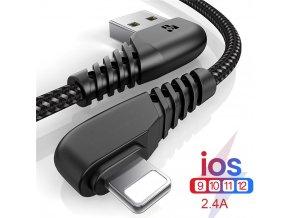 Silikonový nabíjecí kabel pro iPhone DEGRE
