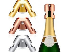 Zátka na šampaňské / uzávěr na šampaňské / těsnící zátka / víčko na láhev