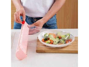 Řezačka na potravinovou folii / potravinová fólie s řezačkou / řezačka na alobal / zásobník / dávkovač potravinářské fólie