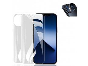 Ochranné sklo a fólie na mobil iPhone 3v1 HYDROGEL