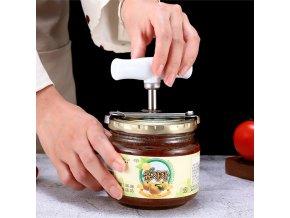 Nastavitelný otvírák na sklenice / otvírák / zavařovací sklenice / kuchyňské potřeby