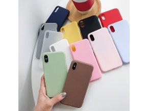 Silikonový obal pro XIAOMI Redmi Note 7/8 a další