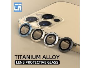 mainimage0Luxury Color Camera Protector for IPhone 11 12 Pro Max Lens Tempered Glass on iPhone 11