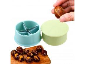 Otvírák na kaštany / louskáček na ořechy / kleště na jedlé kaštany / nůž na ořechy / cracker na ořechy a kaštany