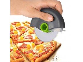 Kotouč na pizzu / nerezový nůž / řezač na pizzu / řezač na těsto / kolečko na pizzu EDWARD