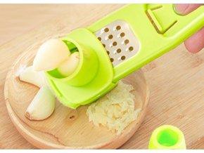 Lis na česnek / nerezový lis na česnek / kvalitní lis na česnek / kuchyňské potřeby / nerezové nádobí / struhadlo / struhadlo na česnek