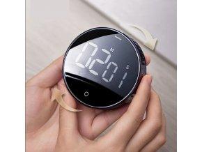 Kuchyňská minutka / digitální minutka / digitální časovač / časovač QUIET / magnetická minutka / magnetický časovač