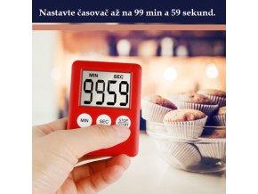 Digitální časovač / kuchyňská minutka / digitální kuchyňská minutka / LCD časovač TIMER