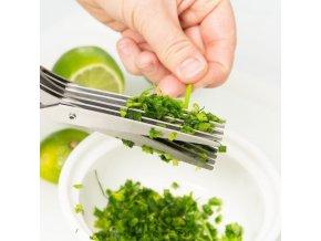 Kuchyňské nůžky / nůžky na bylinky / kuchyňské nůžky s čistítkem / nůžky na pórek / nůžky na bylinky CUTTER
