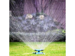 mainimage0360 Degree Automatic Garden Sprinklers Watering Grass Lawn Rotary Nozzle Rotating Water Sprinkler System Garden Supplies