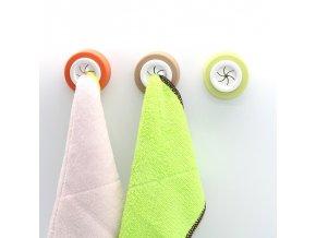 Věšák na ručníky / věšák na utěrky / samolepící věšák SMART