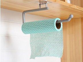 Držák na kuchyňské utěrky / držák na toaletní papír BASIC