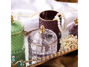 Nádherná cukřenka / šperkovnice LUXURY