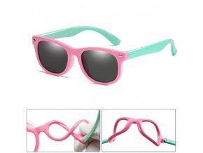 Ohebné sluneční brýle / Dětské sluneční brýle WARDE