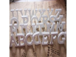 mainimage01pc Diy Freestanding Wood Wooden Letters White Alphabet Wedding Birthday Party Home Decorations Personalised Name Design