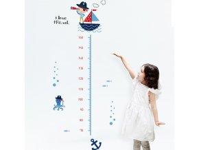 variantimage0DICOR Cartoon Height Measure Wall Sticker for Kids Rooms Growth Chart Nursery Room Decor Kids Room