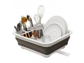 Organizér do kuchyně / odkapávač na nádobí HOME