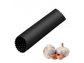 Silikonový lis na česnek / praktická škrabka na česnek ROLL