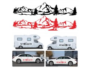 Samolepky na auto / samolepky na karavan CAMPER