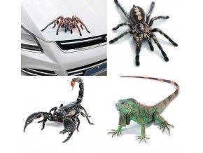 Samolepky na auto / autolepky 3D SPIDER