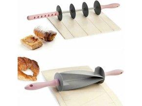 Řezací váleček na těsto / váleček na croissanty a rohlíky PASTRY