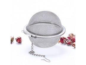 Sítko na čaj / čajítko s háčkem BALL